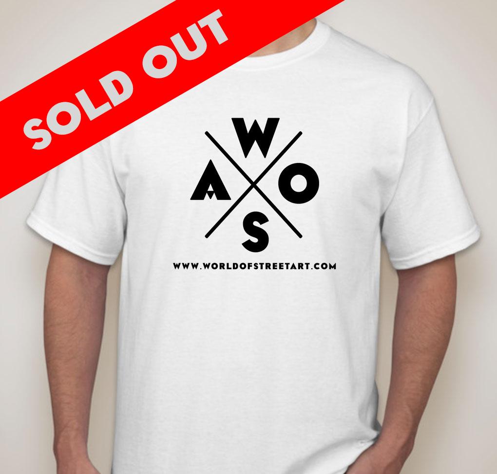 WOSA White T-Shirt